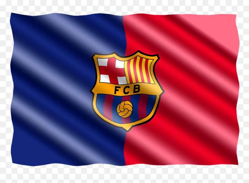 Fc Barcelona Flag, HD Png Download