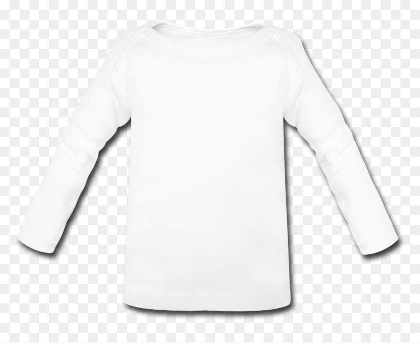 Blank White T Shirt Long Sleeve, HD Png Download
