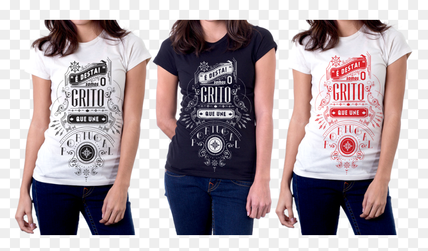 Typography T Shirt Png, Transparent Png