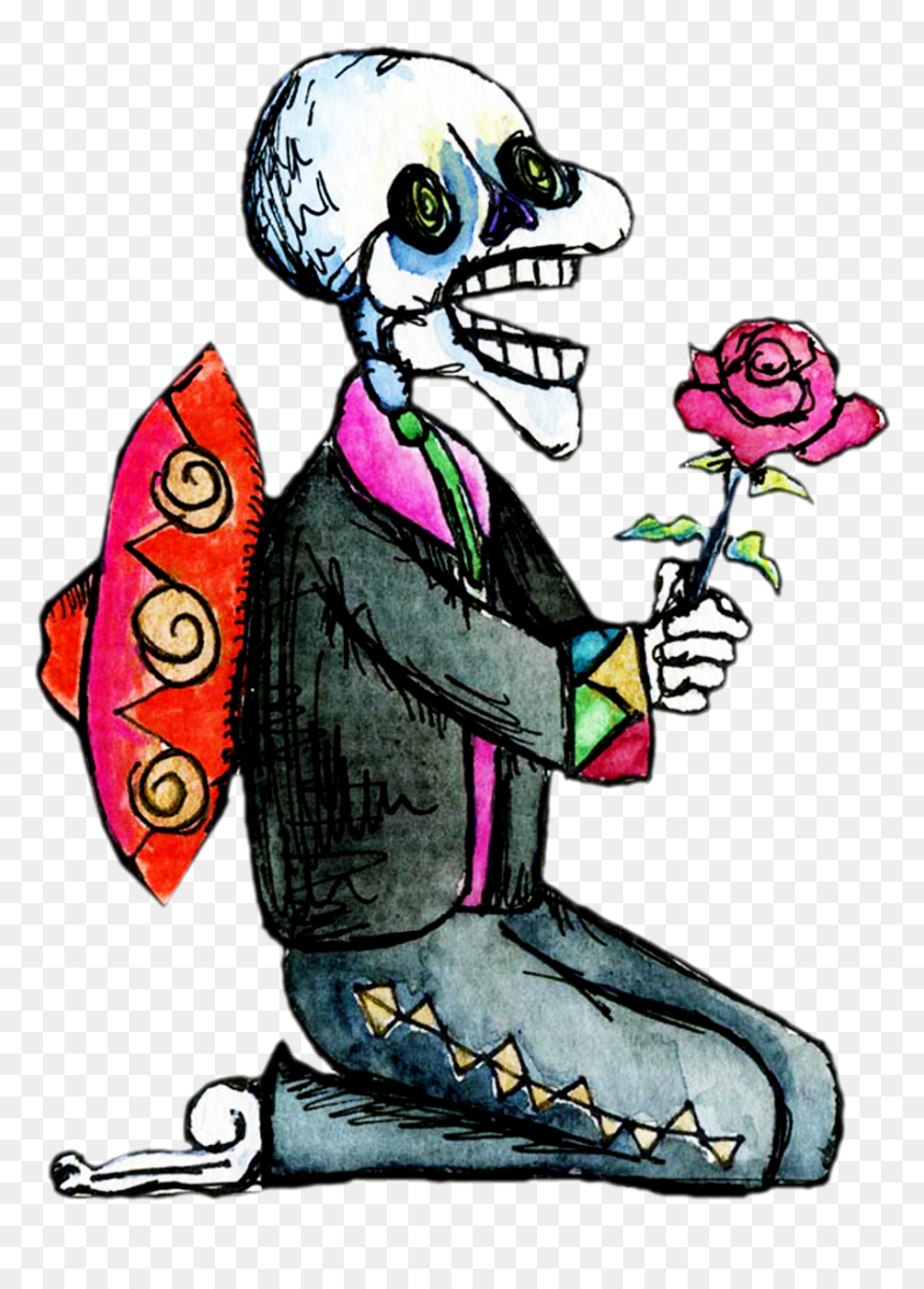 Day Of The Dead Clipart Png, Transparent Png