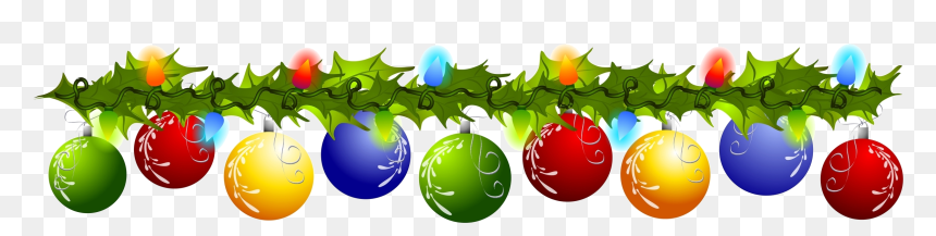 Christmas Top Border Clipart, HD Png Download