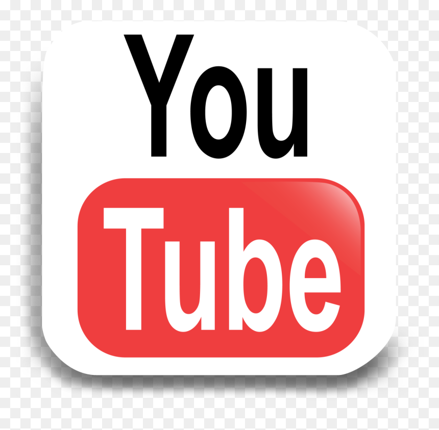 Youtube Transparent Logo Png, Png Download