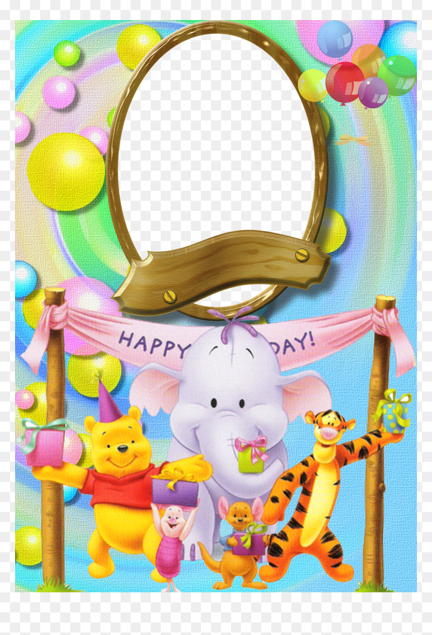 Happy Birthday Clipart Winnie The Pooh, HD Png Download