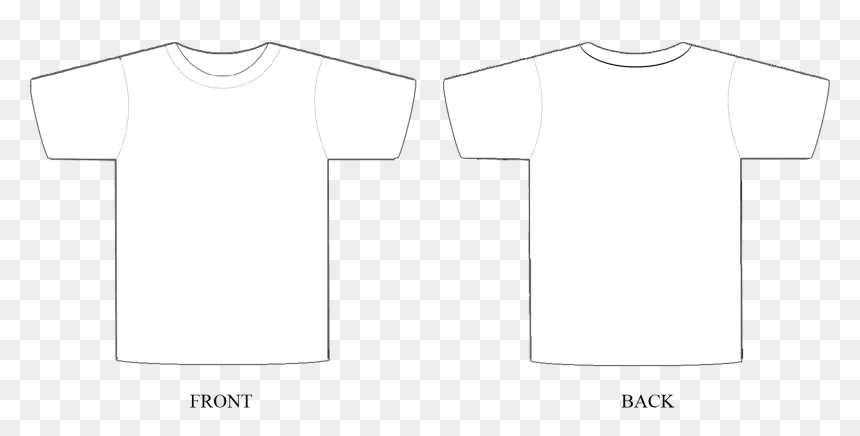 T Shirt Template Adobe Photoshop, HD Png Download