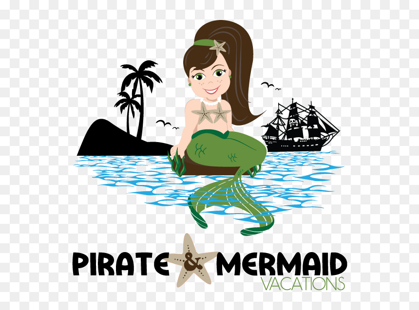 Mermaid And Pirates Clipart Hd Png Download 566x557 Png Dlf Pt