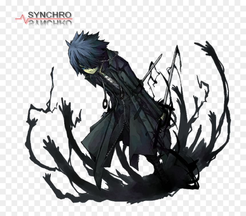 Anime Boy Shadow Demons, HD Png Download - 790x700 PNG ...