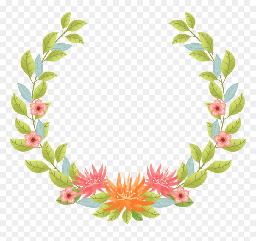 กรอบ รูป ดอกไม้ Png, Transparent Png