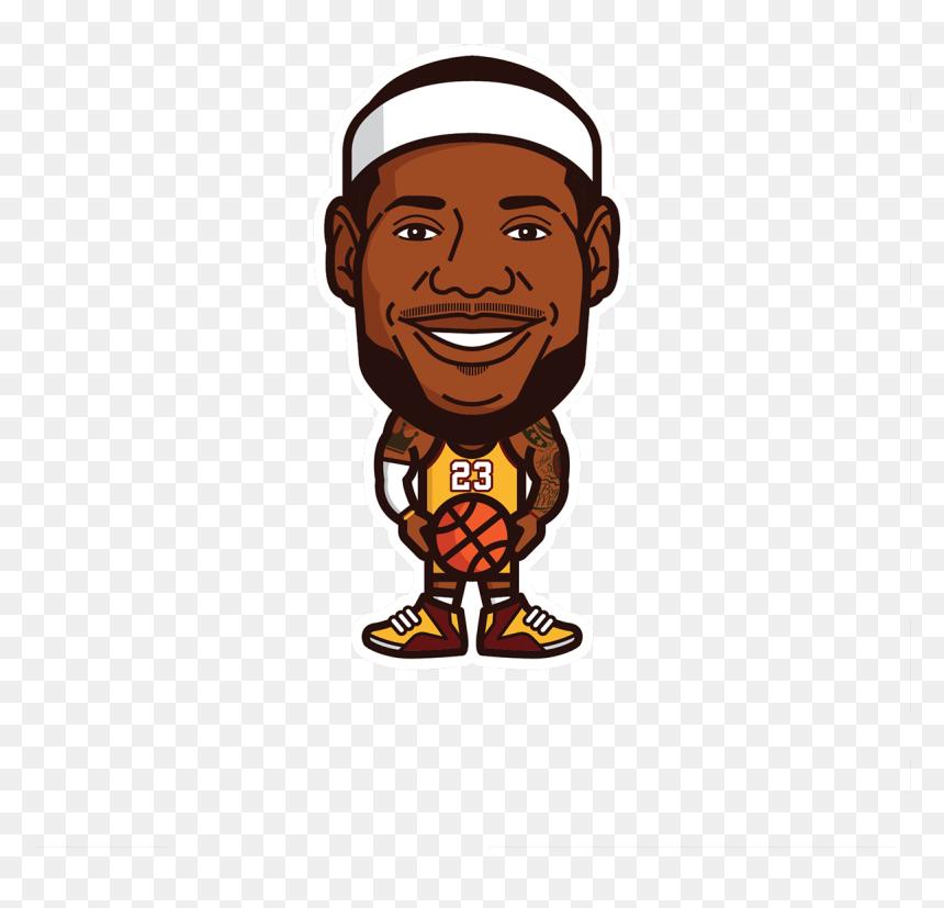 Lebron James Lakers Cartoon, HD Png Download - 1201x1100 PNG - DLF.PT