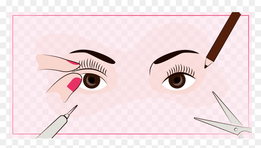 Pick Eyelashes, HD Png Download