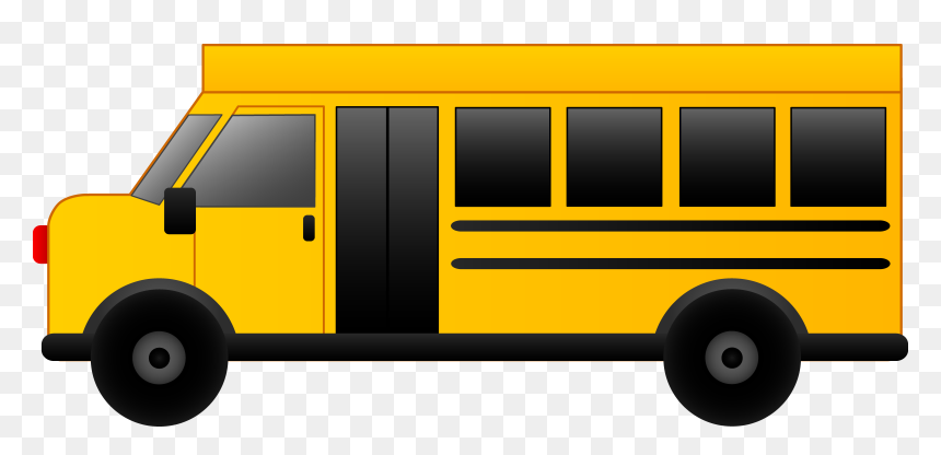 Bus Clipart, HD Png Download