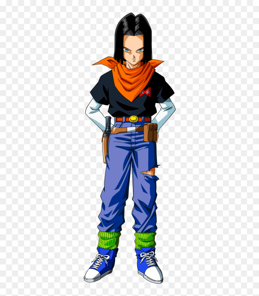 Dbz Android 17 Png, Transparent Png