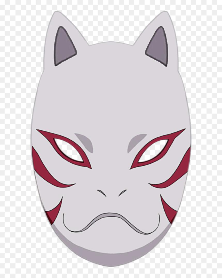 Mascara De Kakashi Anbu, HD Png Download