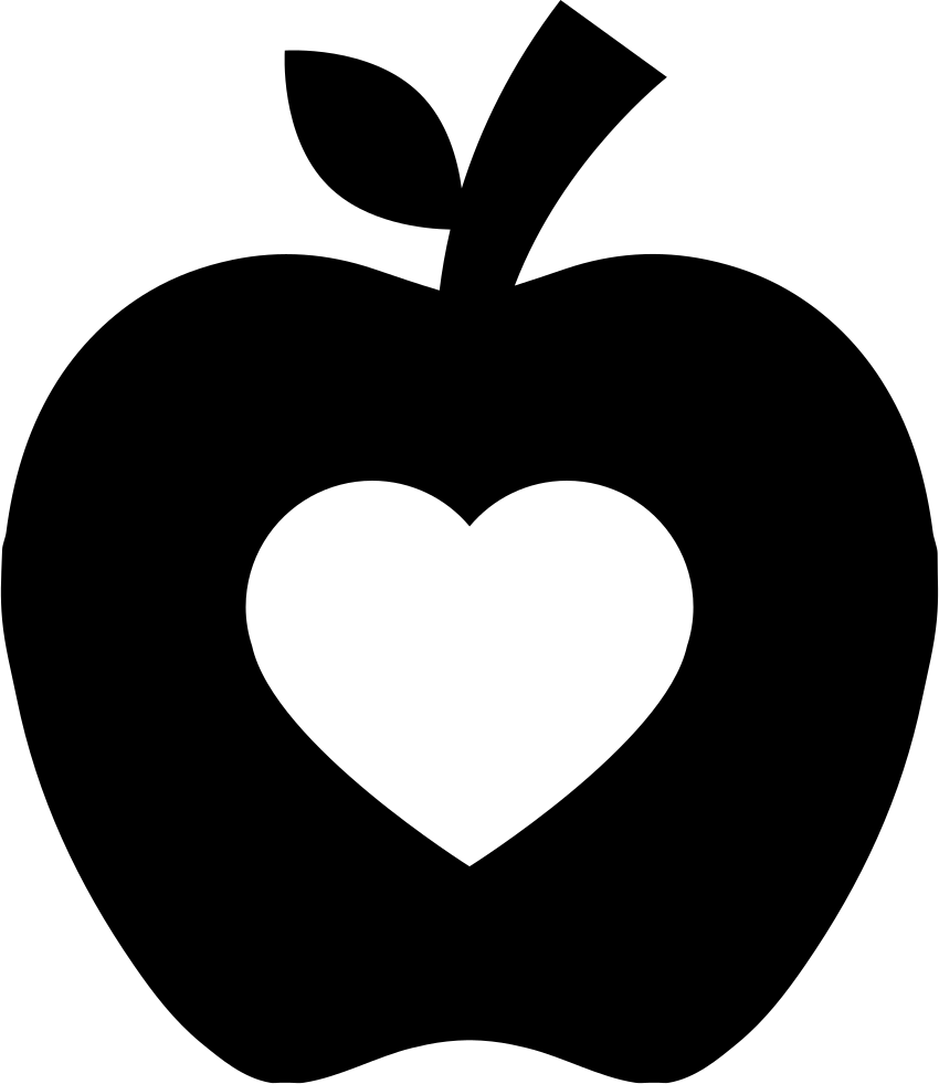 Apple Silhouette Png, Transparent PNG, png collections at ...