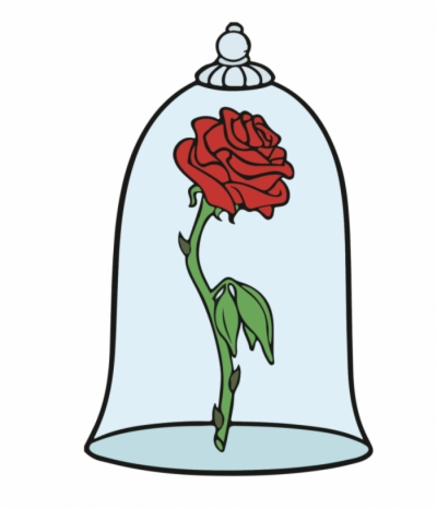 Beauty And The Beast Rose Transparent Png Png At Dlf Pt